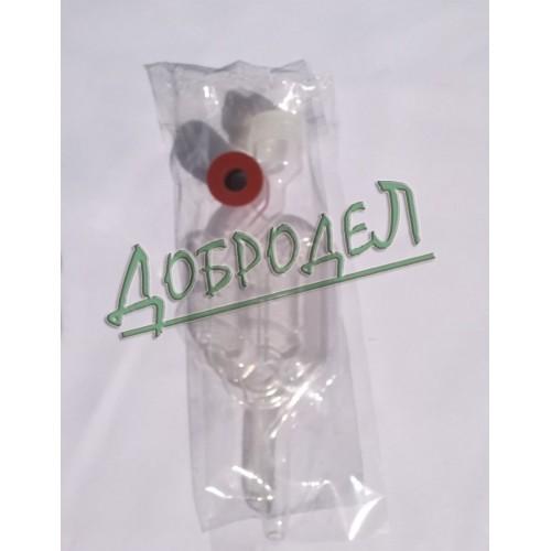 Гидрозатвор с резинкой