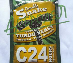 Турбо-дрожжи DoubleSnake C24, 175 г